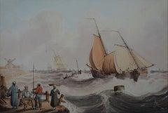 """Off the Dutch Coast"""