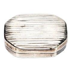 Samuel Pemberton English Sterling Silver Vinaigrette Box