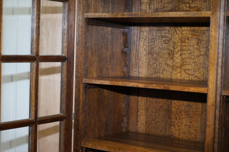 Samuel Pepys 1666 Oak Library Bookcases Pair High Provenance Carved by Forsyth For Sale 2