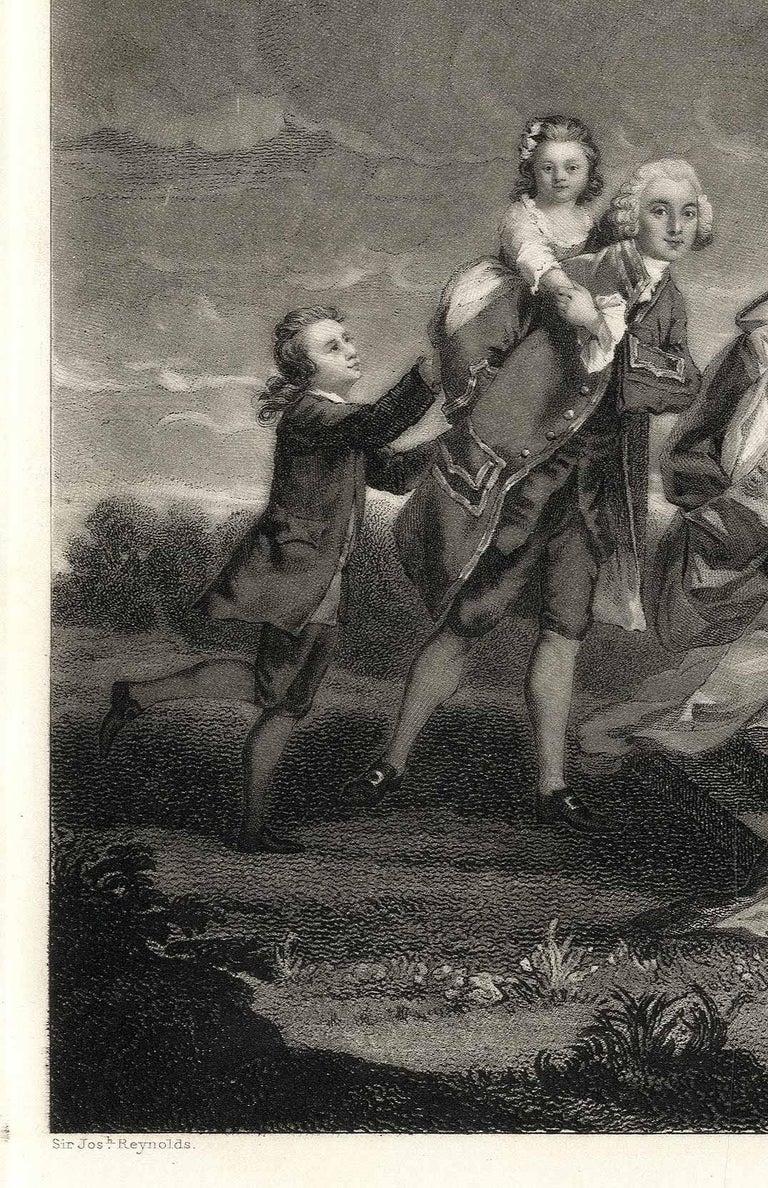 Richard and Harriet Elliot - Print by Samuel William Reynolds
