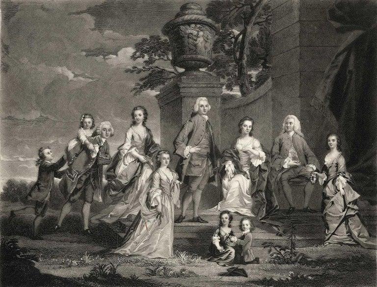 Samuel William Reynolds Figurative Print - Richard and Harriet Elliot