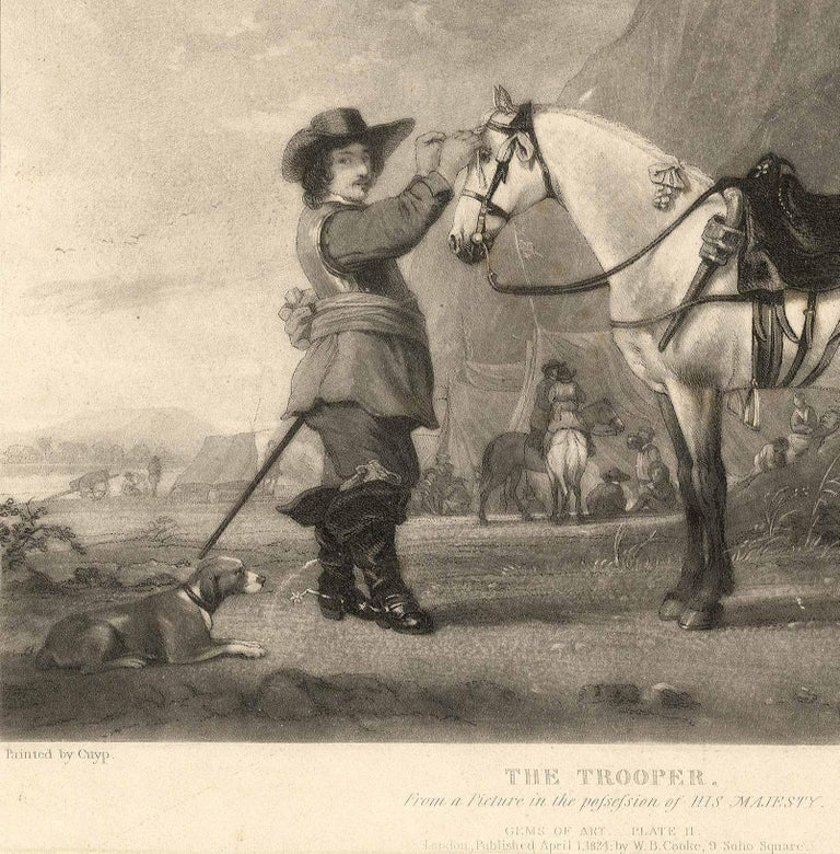 The Trooper - Print by Samuel William Reynolds