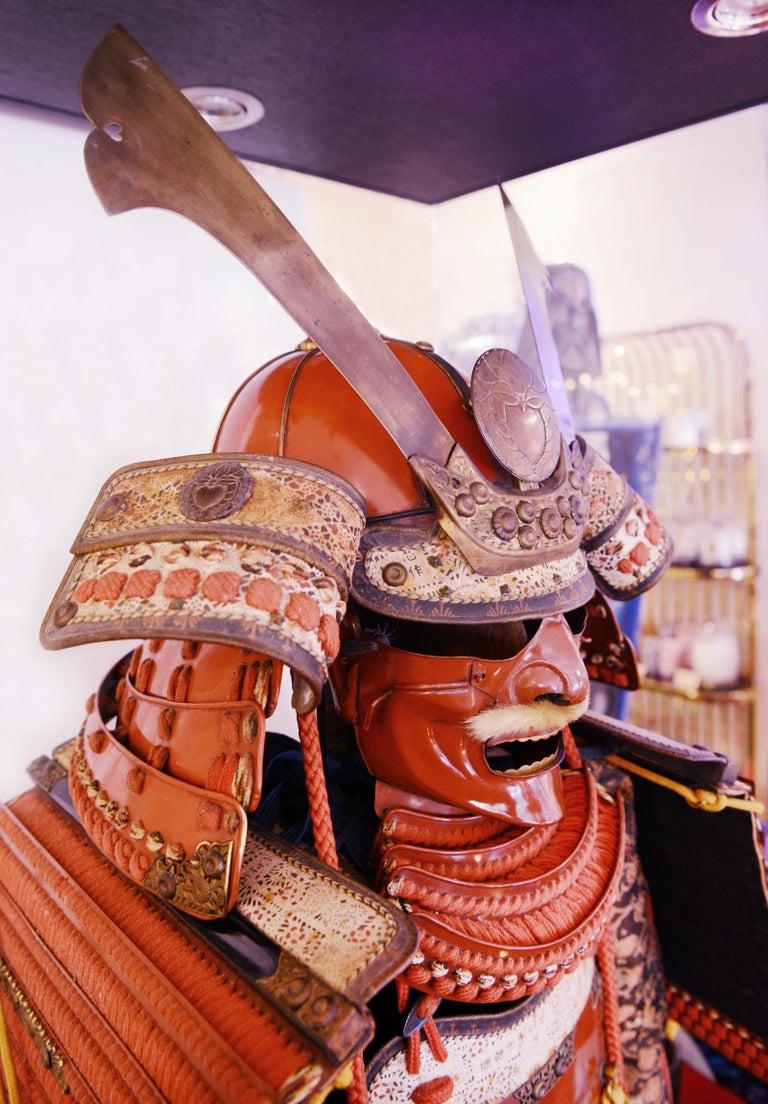 Samuraï Armor Ka-To Crest Dai-Myo Family For Sale 5