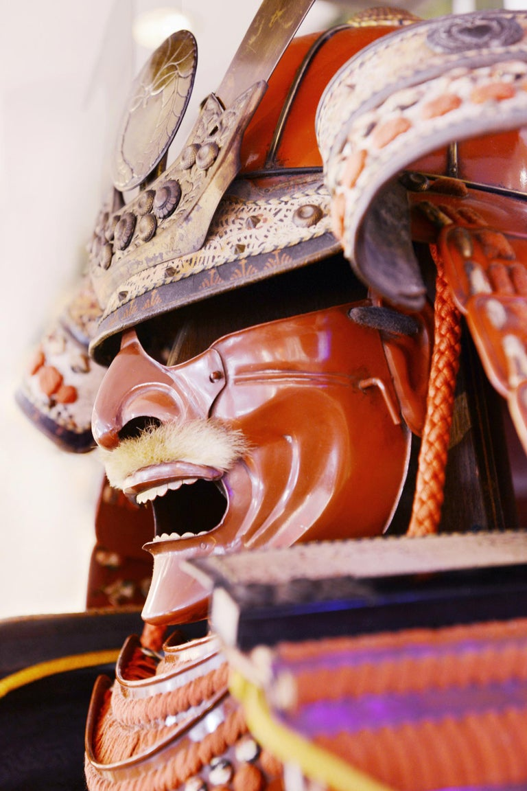 Samuraï Armor Ka-To Crest Dai-Myo Family For Sale 6