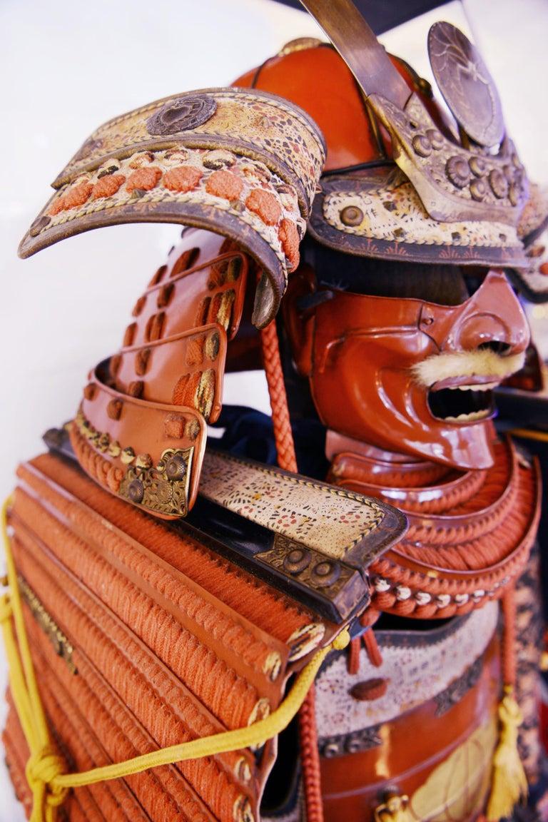 Samuraï Armor Ka-To Crest Dai-Myo Family For Sale 8
