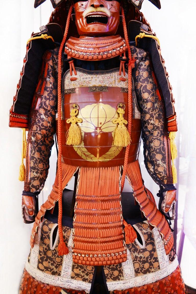 Samuraï Armor Ka-To Crest Dai-Myo Family For Sale 9