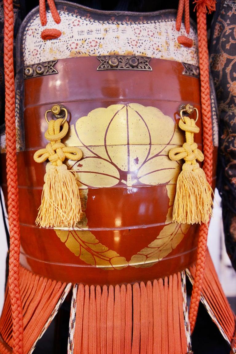 Samuraï Armor Ka-To Crest Dai-Myo Family For Sale 11