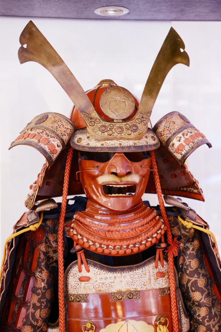 Samuraï Armor Ka-To Crest Dai-Myo Family For Sale 1