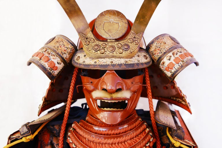 Samuraï Armor Ka-To Crest Dai-Myo Family For Sale 2