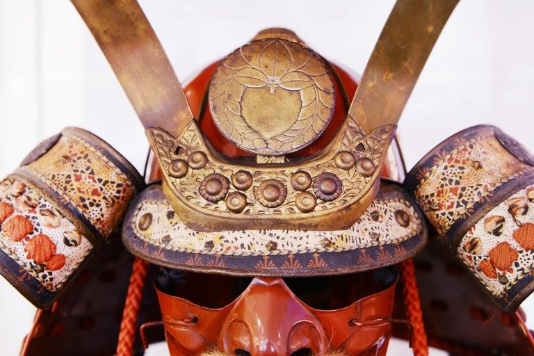 Samuraï Armor Ka-To Crest Dai-Myo Family For Sale 4