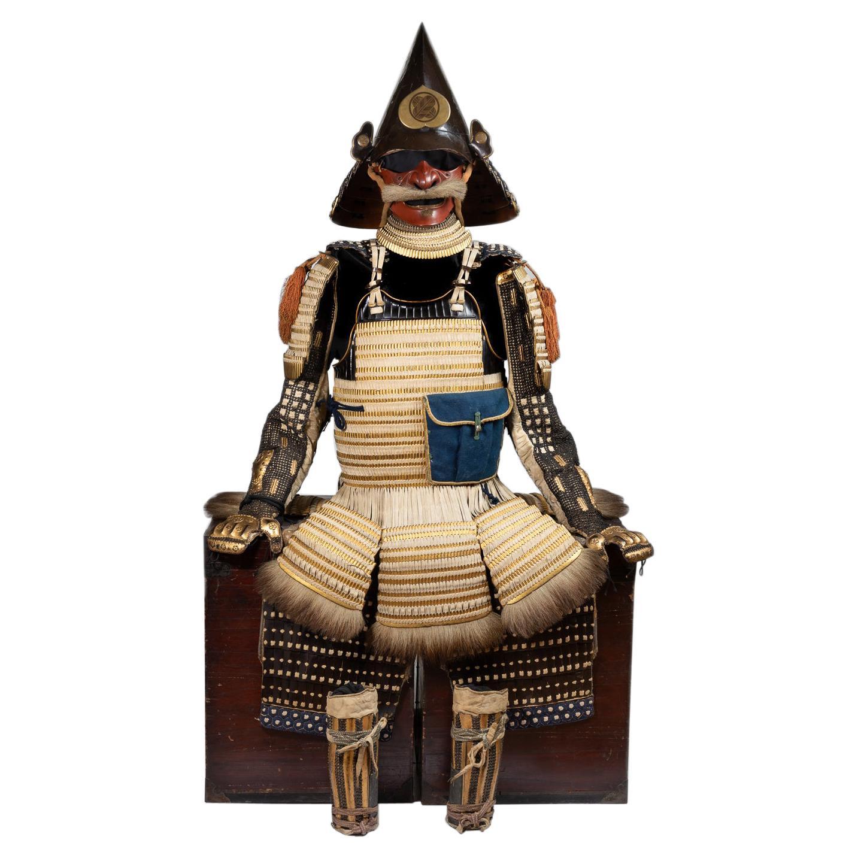 Samurai Armor with Eboshi-Nari Kabuto Tachi-dō tōsei Gusoku, 17th-18th Century
