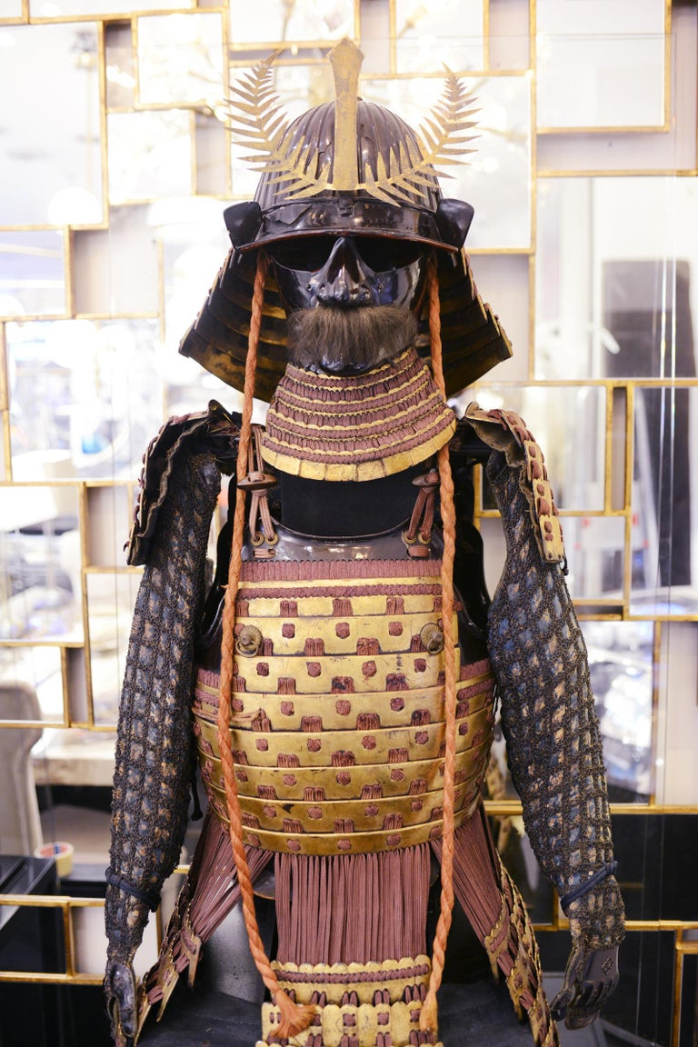 Japanese Samuraï Warrior Armor Mori-Kawa For Sale