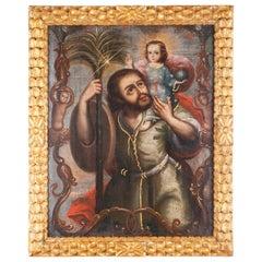 San Cristobal Con Cristo Niño