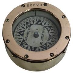 San Francisco Crass Boat Compass
