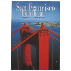 San Francisco from the Air Hardcover Coffee Table Vintage Book
