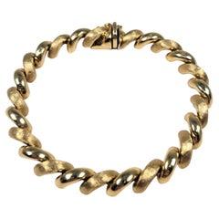 San Marco Bracelet in 14 Karat Gold