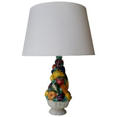 San Marino Italian Art Pottery Table Lamp