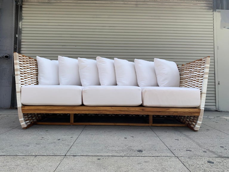Contemporary San Martin Outdoor Sofa For Sale