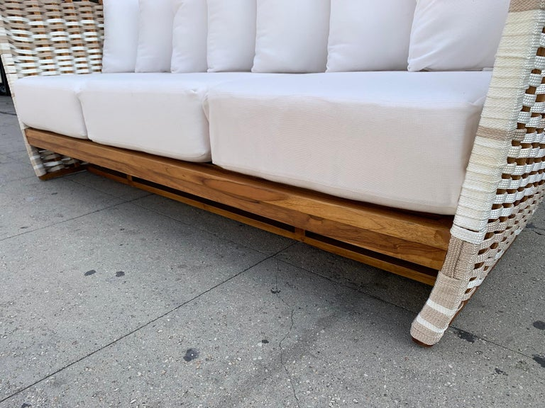 Rope San Martin Outdoor Sofa For Sale