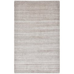 Sanam, Contemporary Solid Hand Loomed Area Rug, Light Brown