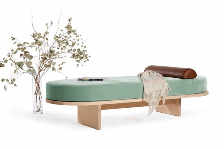 Sand Blasted Ash Mojave Daybed by Casey McCafferty In New Condition In Santa Monica, CA