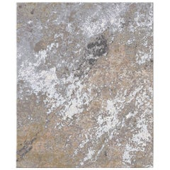 Sand Pebbles - Multicolor Modern Hand Knotted Wool Silk Rug