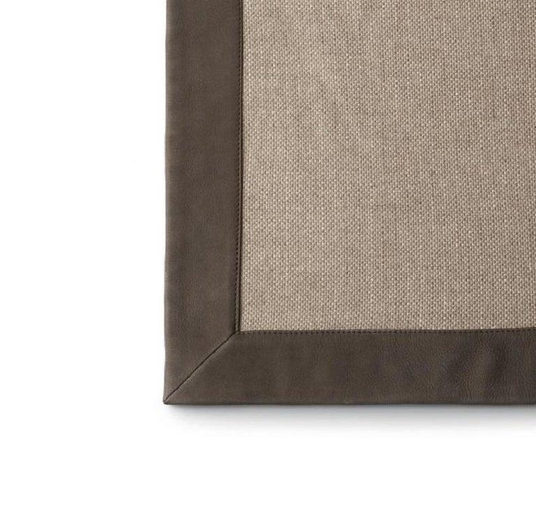 Modern  Molteni&C Sand Plaid Marta Ferri Design Wool For Sale