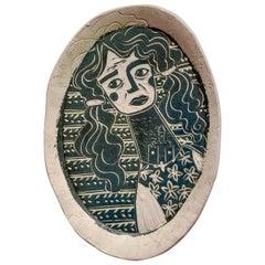 Sandcastle Sorrow, Carved porcelain