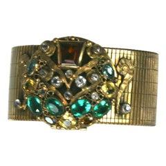 Sandor Art Deco Compact Bracelet