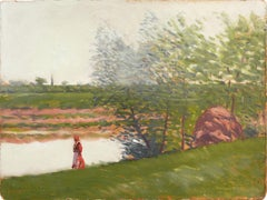 'Woman by the River', Hungarian National Gallery, Budapest Academy of Fine Arts