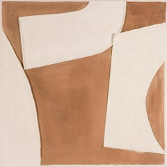 Triband, Undated - 20th Century British Abstraction, Collage on Canvas