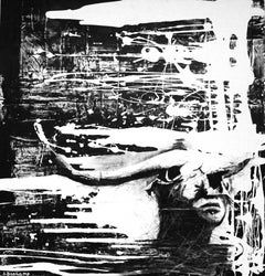 Carmilla, Mixed Media on Canvas