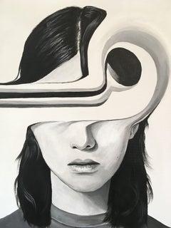 Orbit, Painting, Acrylic on Canvas