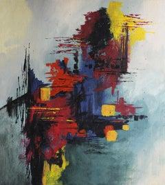 Saudade, Painting, Acrylic on Canvas