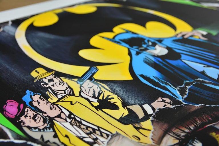 SANDRA CHEVRIER: La Cage. Je N'ai Pas Peur - Giclée on paper Pop Art, Street art For Sale 3