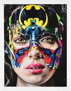 SANDRA CHEVRIER: La Cage. Je N'ai Pas Peur - Giclée on paper Pop Art, Street art