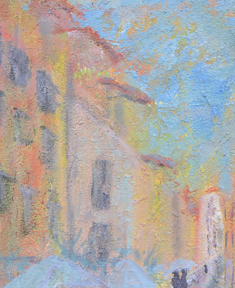 French Street Scene Landscape For Sale 1
