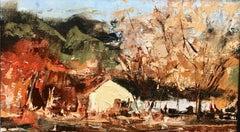 """Irsi Farm"", Oil painting"