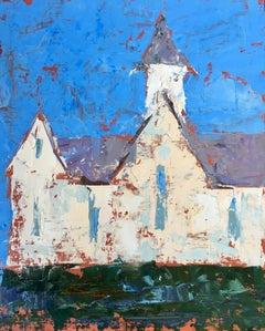 """Star Barn II"", Oil painting"