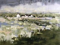 """Village"", Oil painting"