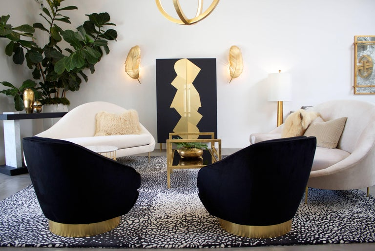 Contemporary Sandrine Chaise For Sale
