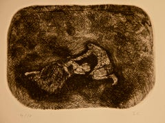 Over the Uncommon - Original Etching by Sandro Chia - 1979