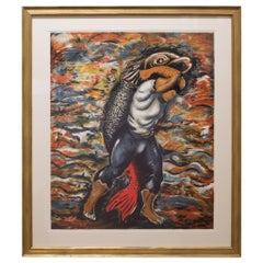"""Sandro Chia """"Water Bearer"""", 1981"""