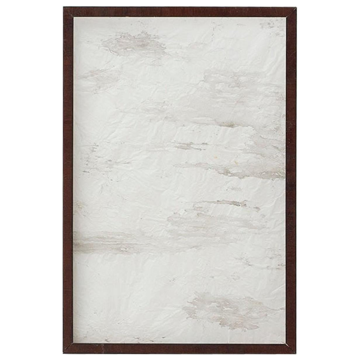 Sandro Contemporary Painting in Translucent Paper