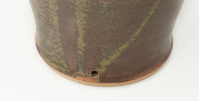 Sandstone Table lamp by Mireille Dailer and Noël Delair for Blanot, 1960, France For Sale 2