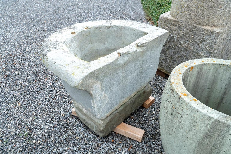 Swiss Sandstone Well, 19th Century, East of Switzerland For Sale