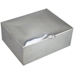 Sandwich Box, Silver, Drew & Sons, U.K, 1902