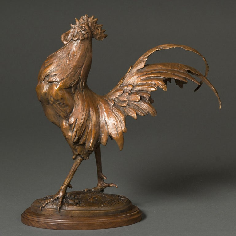 King of the Coop - Sculpture by Sandy Scott