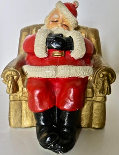 """Sleeping Santa"" Bank Ca. 1948"