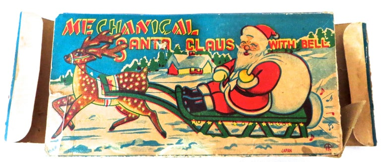 Santa Claus in a Sleigh Wind Up Toy Japan, circa 1953 For Sale 2